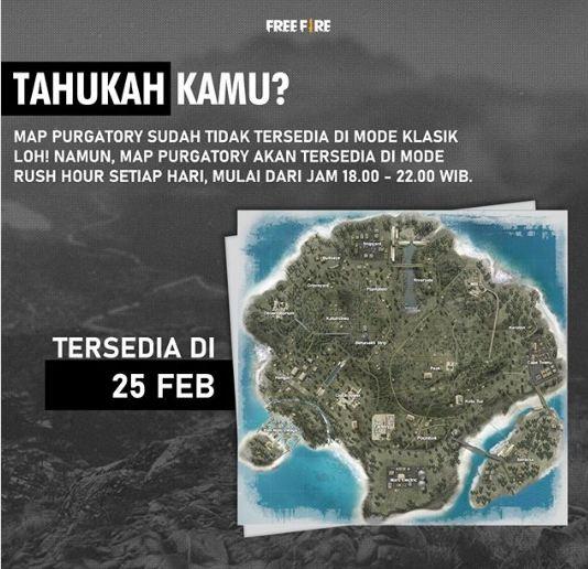 Map Purgatory di Hapus