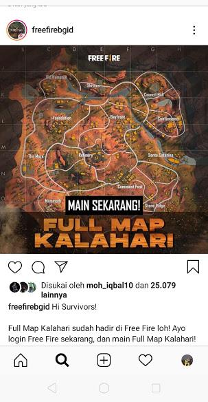map purgathory di ganti map kalahari free fire