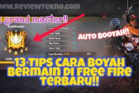 Tips Cara Booyah Bermain Free Fire Untuk Pemula