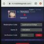 Update Kode Redeem ML Terbaru (Mobile Legends)