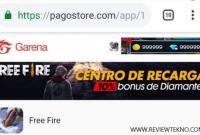 Cara Top Up Diamond FF Pogostore Garena Free Fire